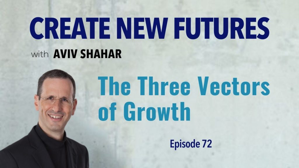 The Three Vectors of Growth